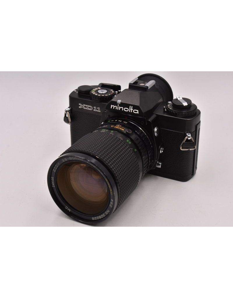 Pre-Owned Minolta XD-11 With 28-80mm