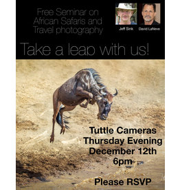 AFRICAN SAFARI AND TRAVEL PHOTOGRAPHY SEMINAR WITH JEFF SINK
