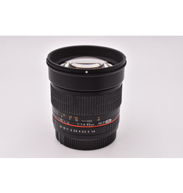 Pre-Owned Rokinon 85mm F1.4 AS IF UMC Canon EF