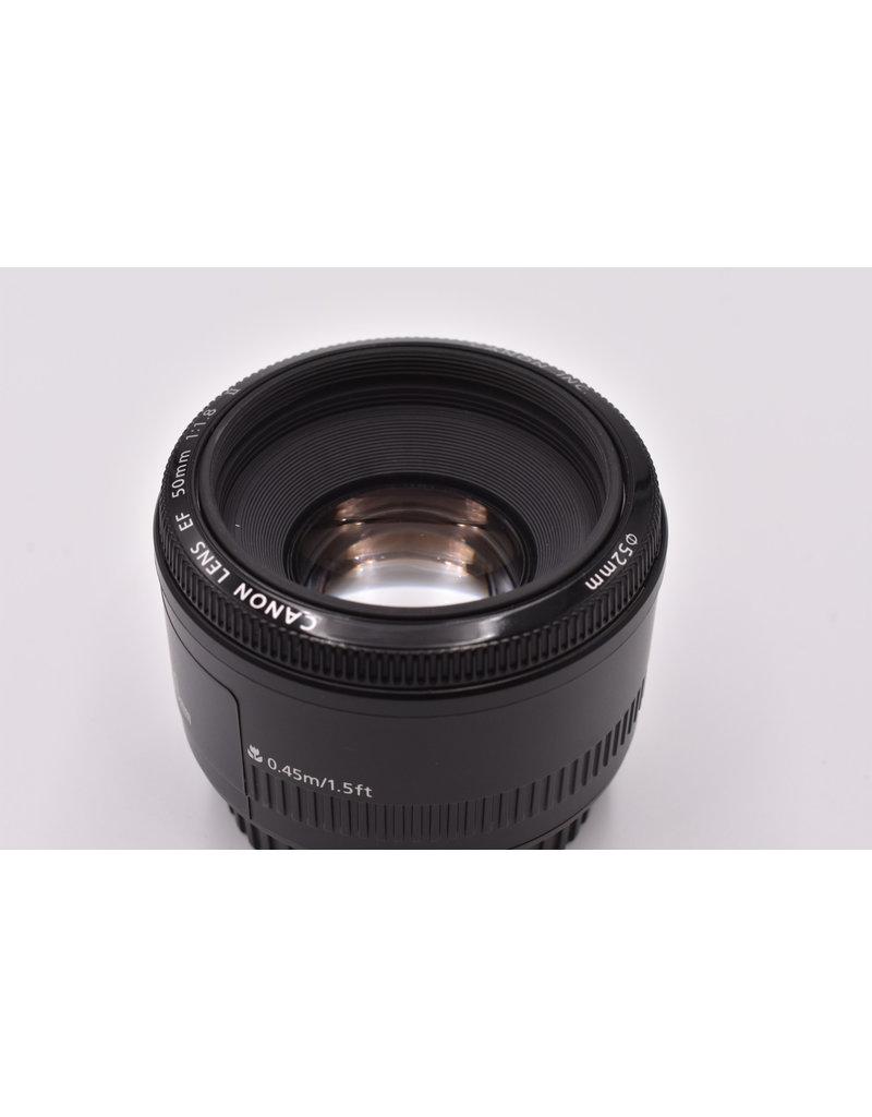 Canon Pre-Owned Canon EF 50mm F1.8 II