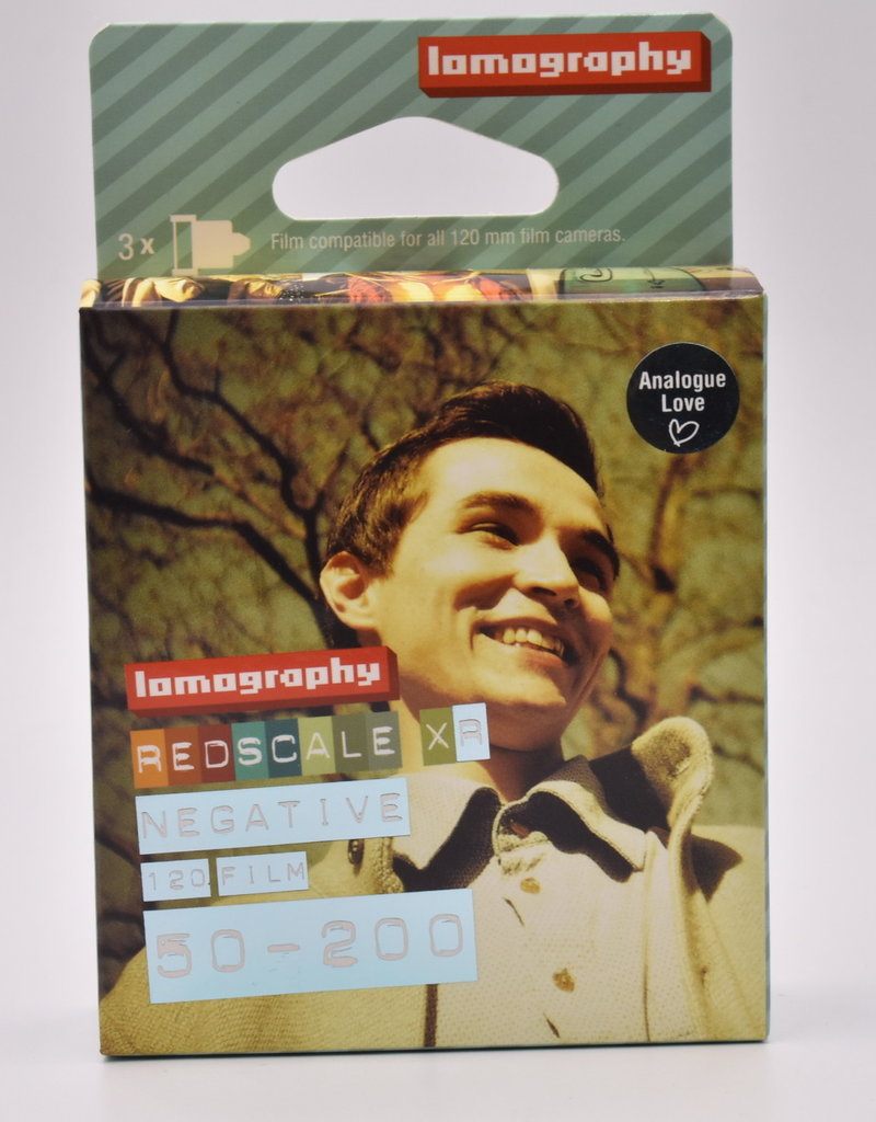Lomography Lomography 120 Film Redscale XR 50-200 3 Pack