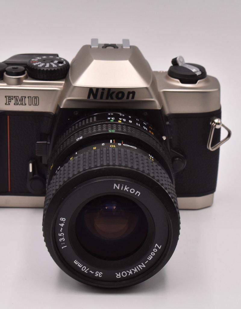 Nikon Pre-Owned Nikon FM10 With 35-70mm