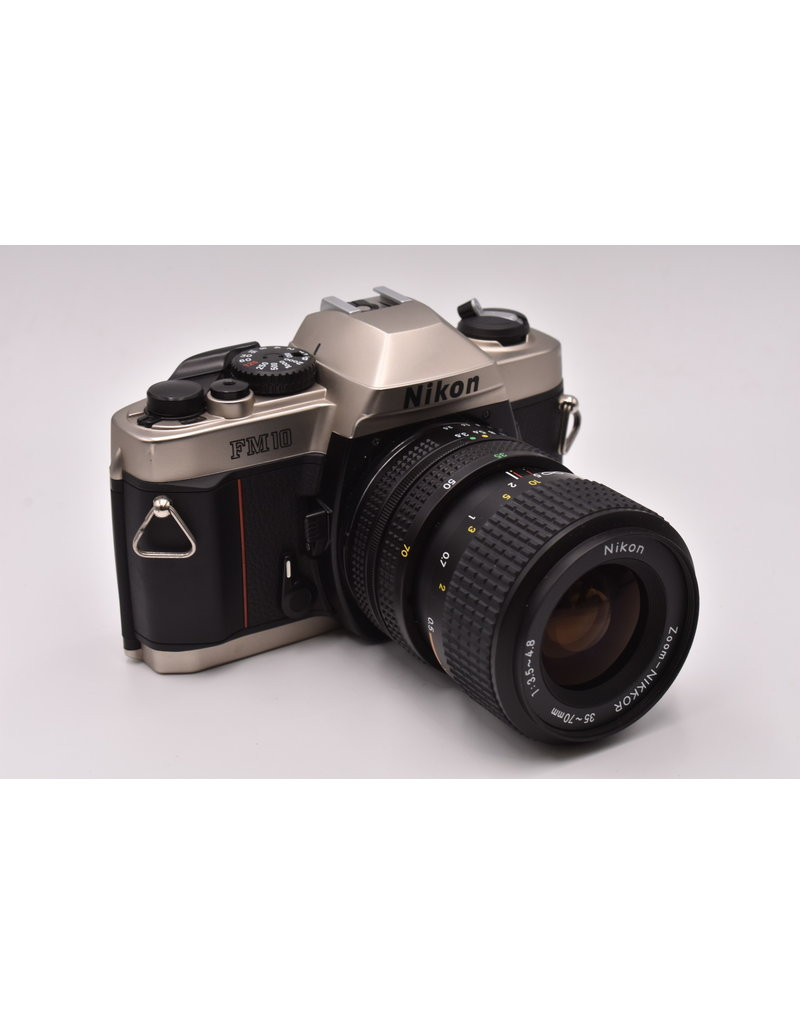 Nikon Pre-Owned Nikon FM10 With 35-70mm