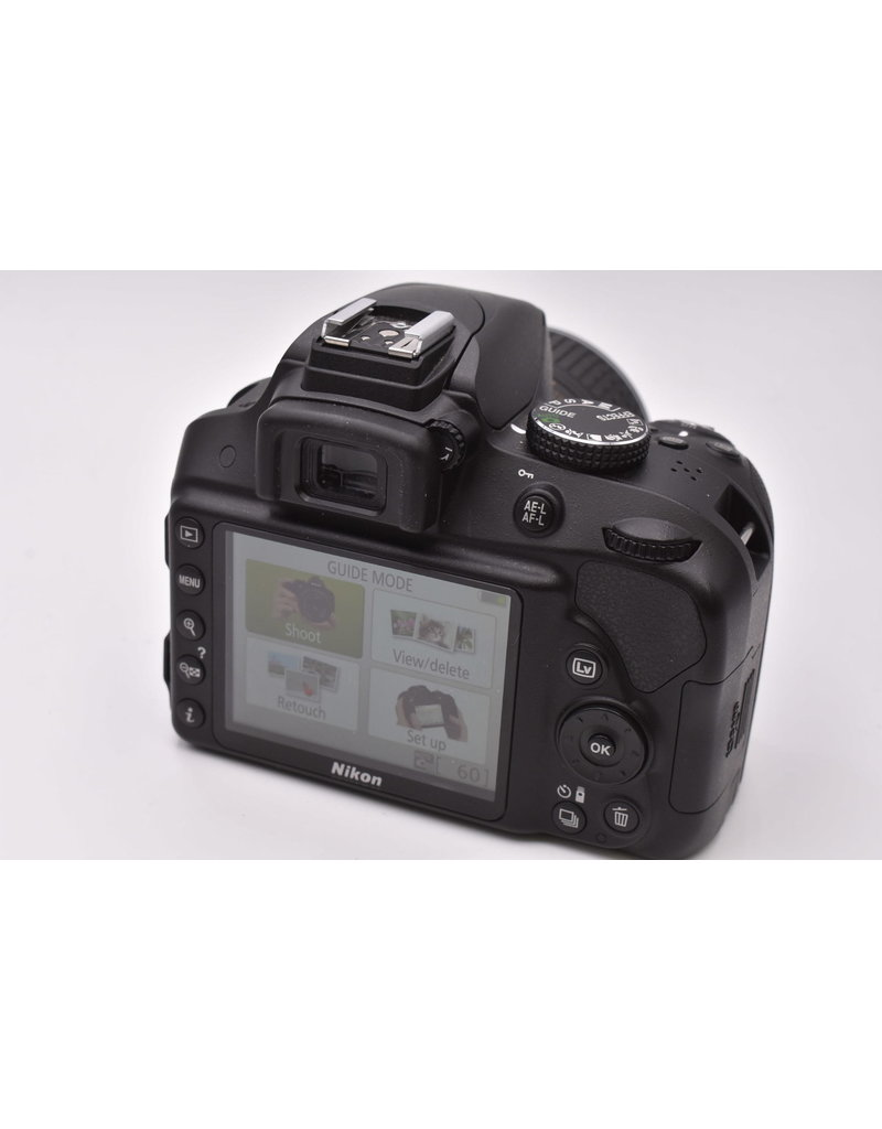 Nikon Pre-Owned Nikon D3300 With 18-55mm VR