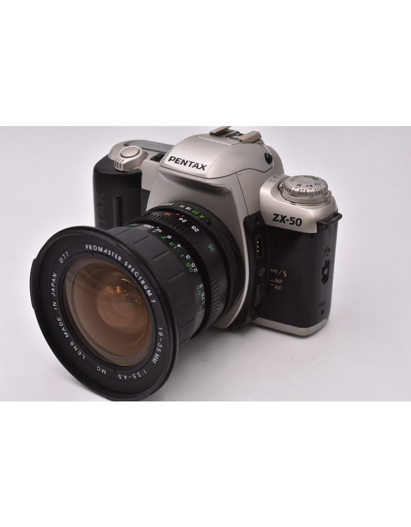 Pre-Owned Pentax ZX-50 With 19-35mm