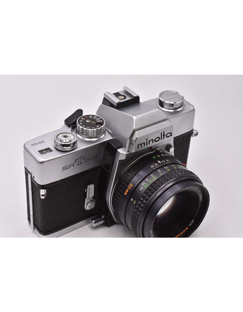 Pre-Owned Minolta SRT 202 With 50mm F1.7
