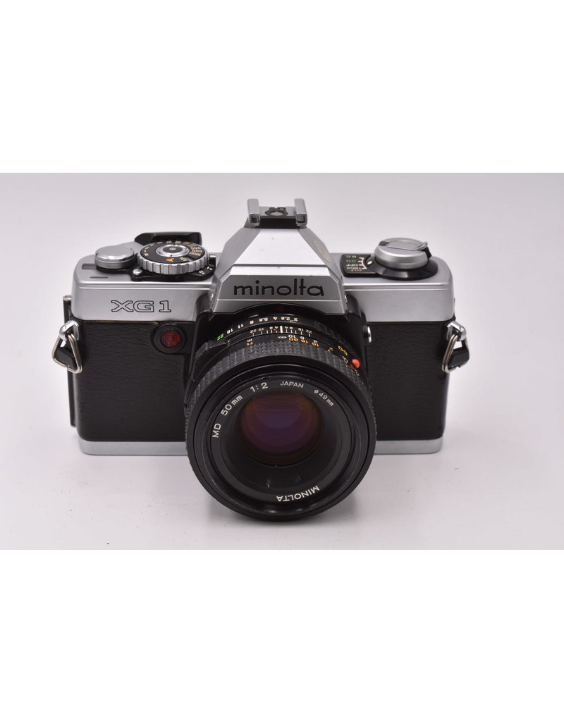Pre-Owned Minolta XG1 With 50mm F2