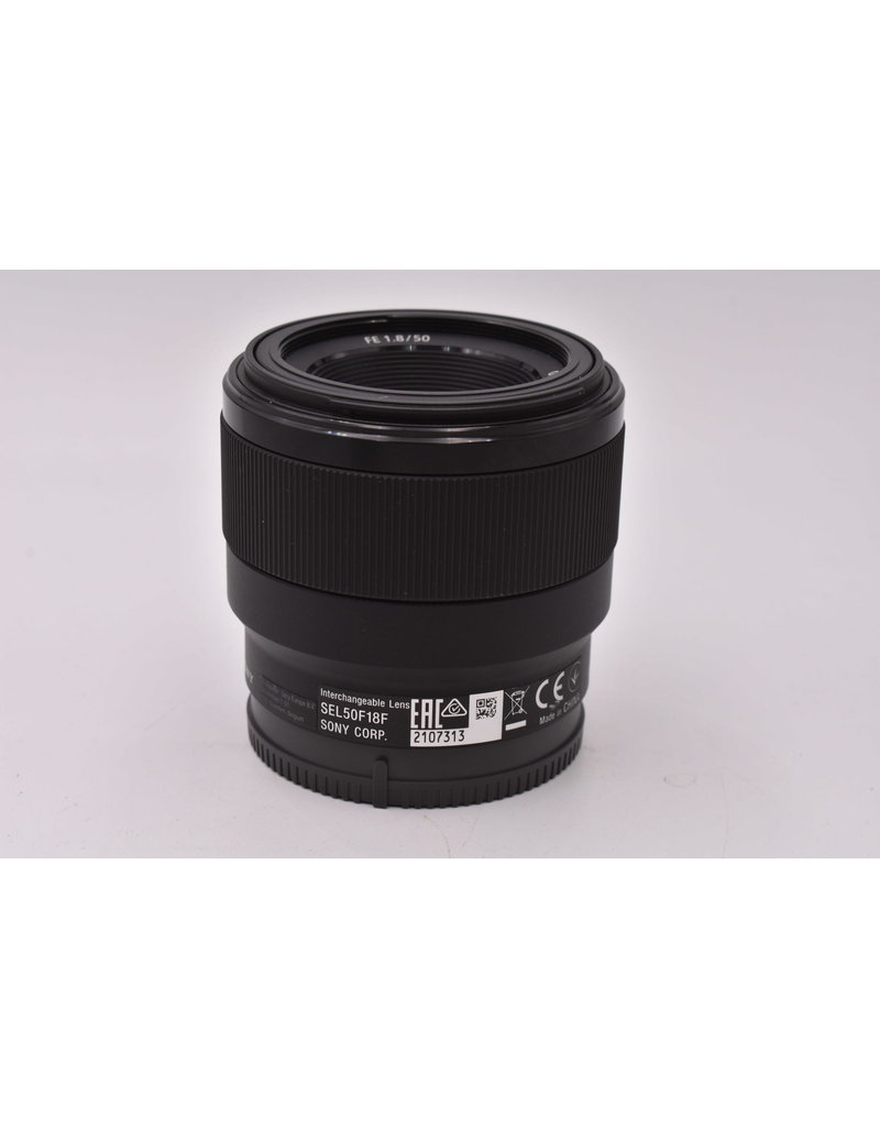 Sony Pre-Owned Sony FE 50mm F1.8 SEL APS-C