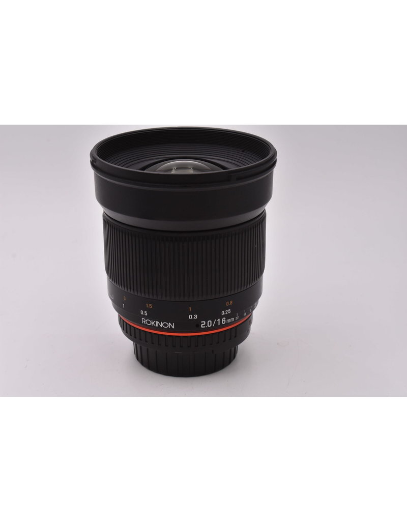 Pre-Owned Rokinon 16mm F2ED AS UMC CS Nikon