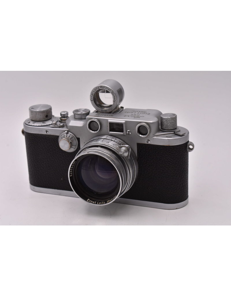 Pre-Owned Leica IIIc With 5cm F2