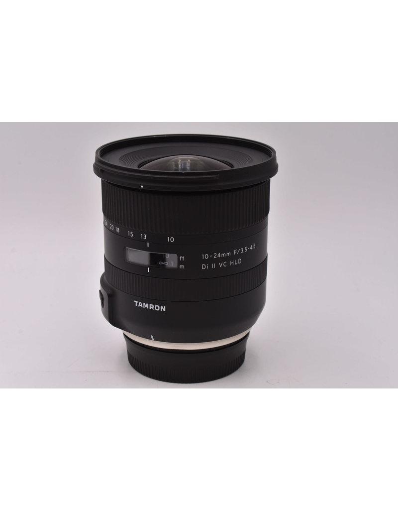 Tamron Pre-Owned Tamron 10-24mm F3.5-4.5 Di II VC HLD Nikon
