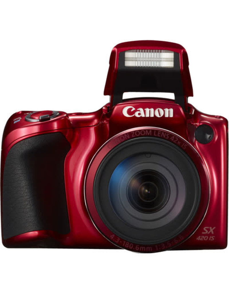 Canon PowerShot SX420 IS Kit (Red)