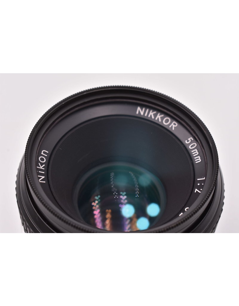 Nikon Pre-Owned Nikkor 50mm F2 F