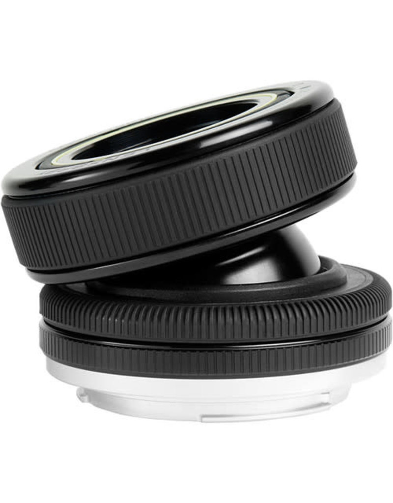 Lensbaby Composer Pro W/ Double Glass Optic Canon EF