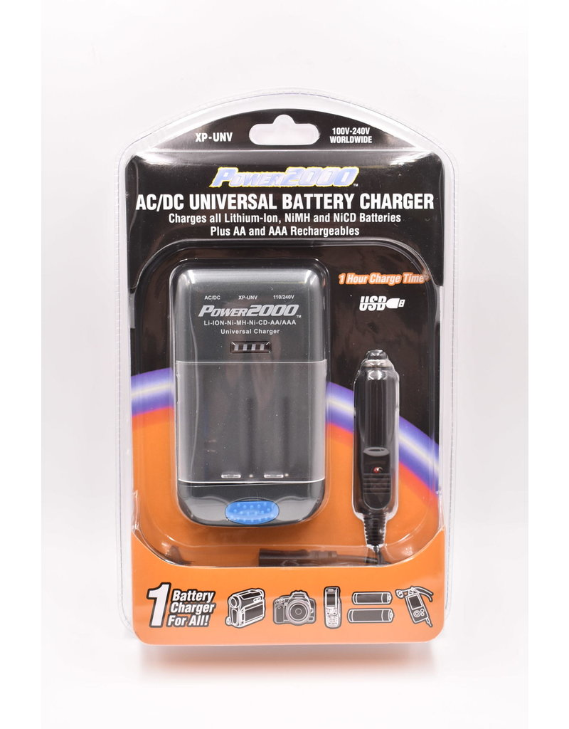 Power2000 AC/DC Universal Charger