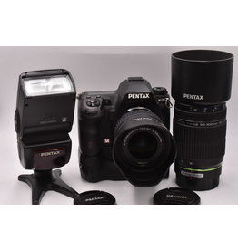 Pre-Owned Pentax K-7 Kit With 18-55mm, 55-300mm, & AF-360FGZ