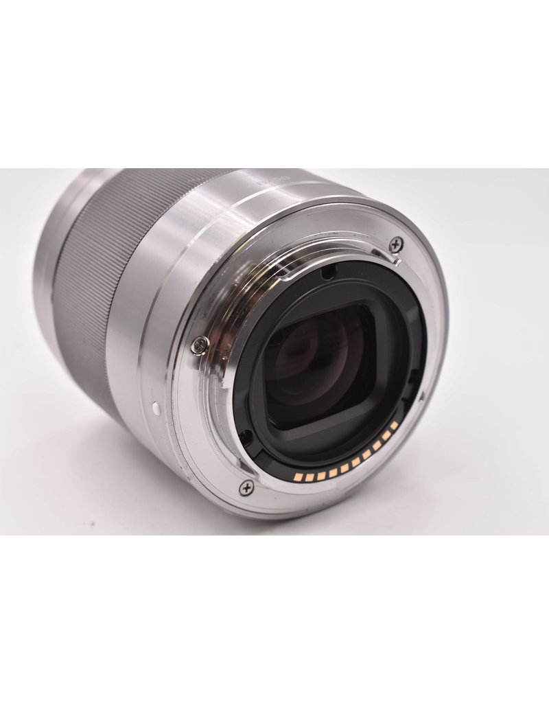 Sony Pre-Owned Sony E 50mm F1.8 OSS Silver
