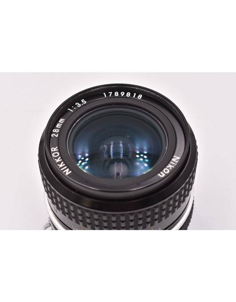 Nikon Pre-Owned Nikon 28mm F3.5 Ai
