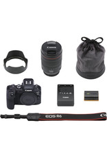 Canon Canon EOS R6 Mirrorless Digital Camera with 24-105mm f/4L Lens