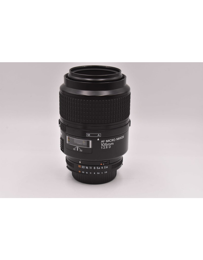 Nikon Pre-Owned Nikon AF Micro 105mm F2.8 D