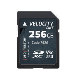 Promaster SDXC 256GB Velocity