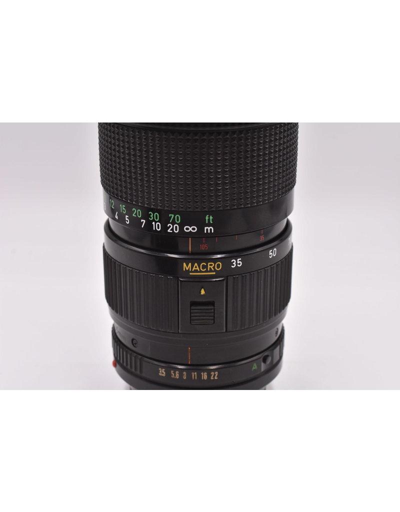 Canon Pre-Owned Canon 35-105mm F3.5 FD Macro
