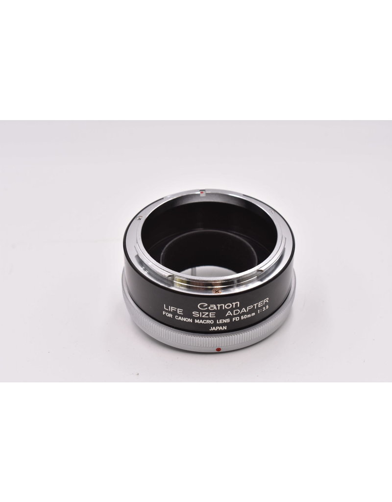 Canon Pre-Owned Canon 50mm F3.5 FD Macro With Life Size Adapter