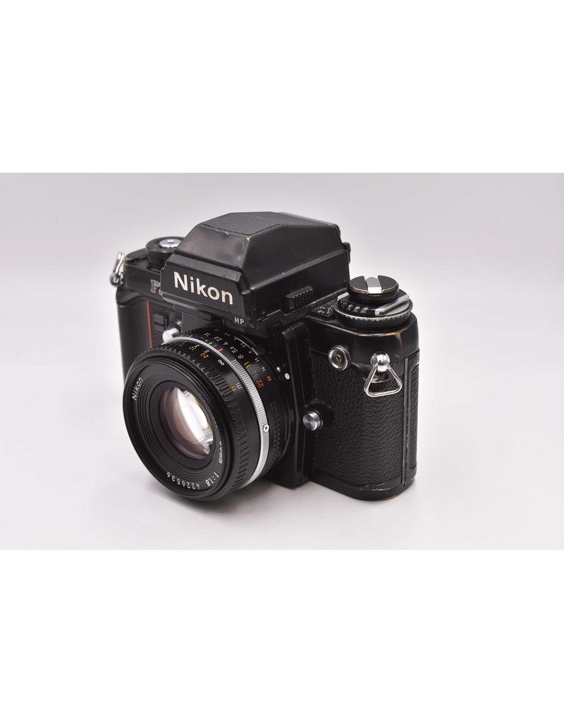Nikon Nikon F3 HP With MD-4 & 50mm F1.8