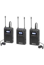 Boya Boya BY-WM8-PRO-2K UHF Wireless Lavalier Kit 2 Transmitters & 1 Receiver