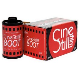 CineStill Cinestill 800Tungsten C-41 Color Negative Film (35mm Roll Film, 36 Exposures)