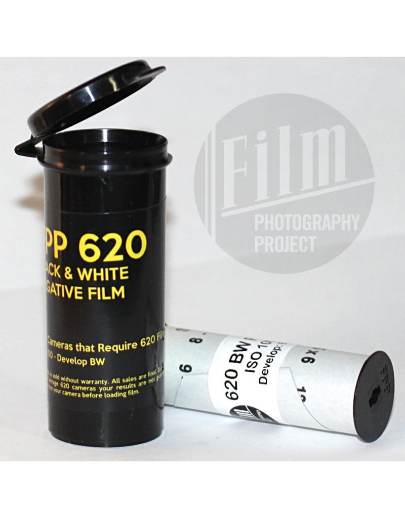 FPP 620 BW NEGATIVE FILM 100 ISO 8, 12, or 16 Exposures
