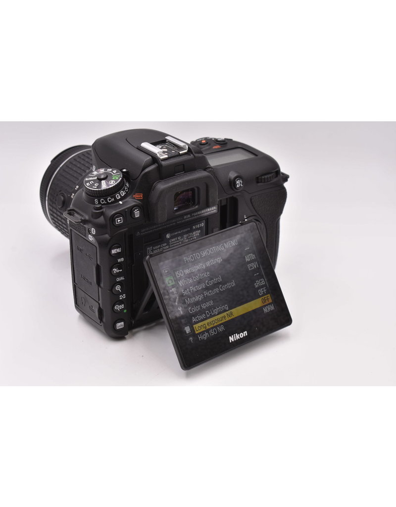 Nikon Pre-Owned Nikon D7500 With 18-55mm
