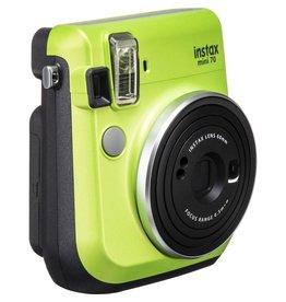 Fuji Fuji Instax Mini 70 Instant Camera Kewi Green With 10 Pk Film
