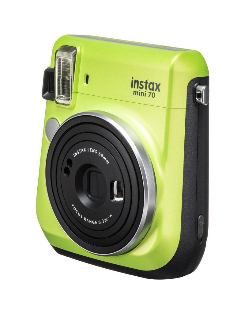 Fuji Fuji Instax Mini 70 Instant Camera Kewi Green With 10 Pk Film