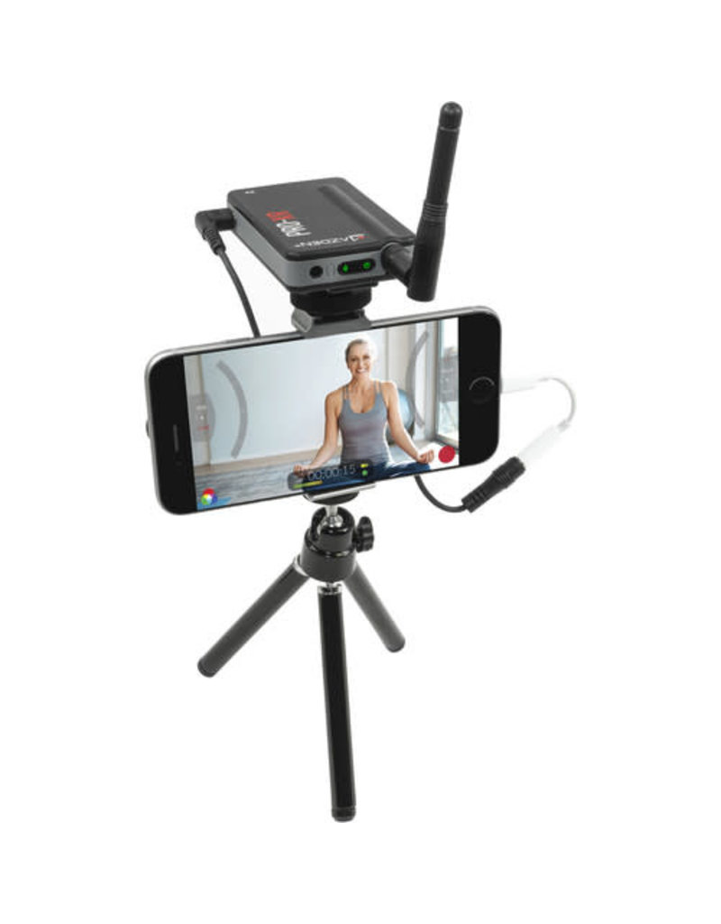Azden Azden PRO-XR Digital Camera-Mount Wireless Omni Lavalier Microphone System (2.4 GHz)
