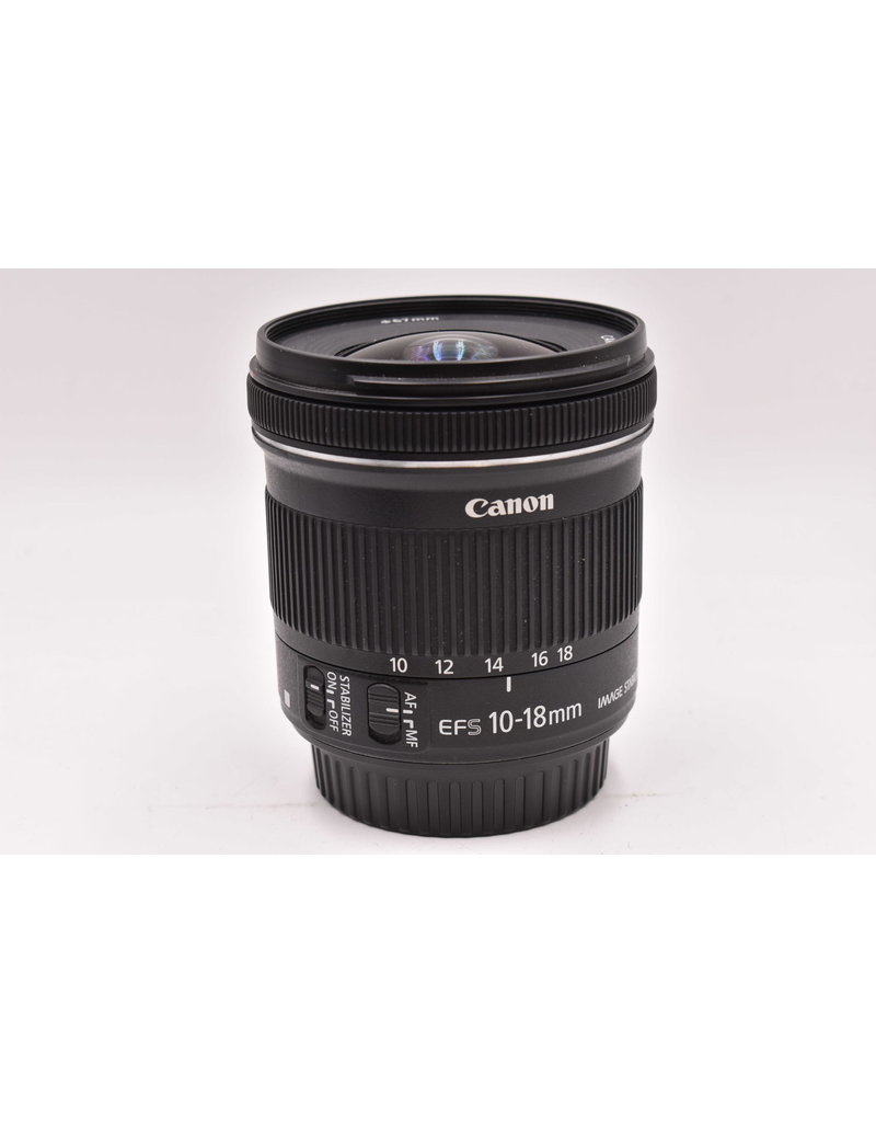 Canon Pre-Owned  Canon 10-18mm F/4.5-5.6 IS STM