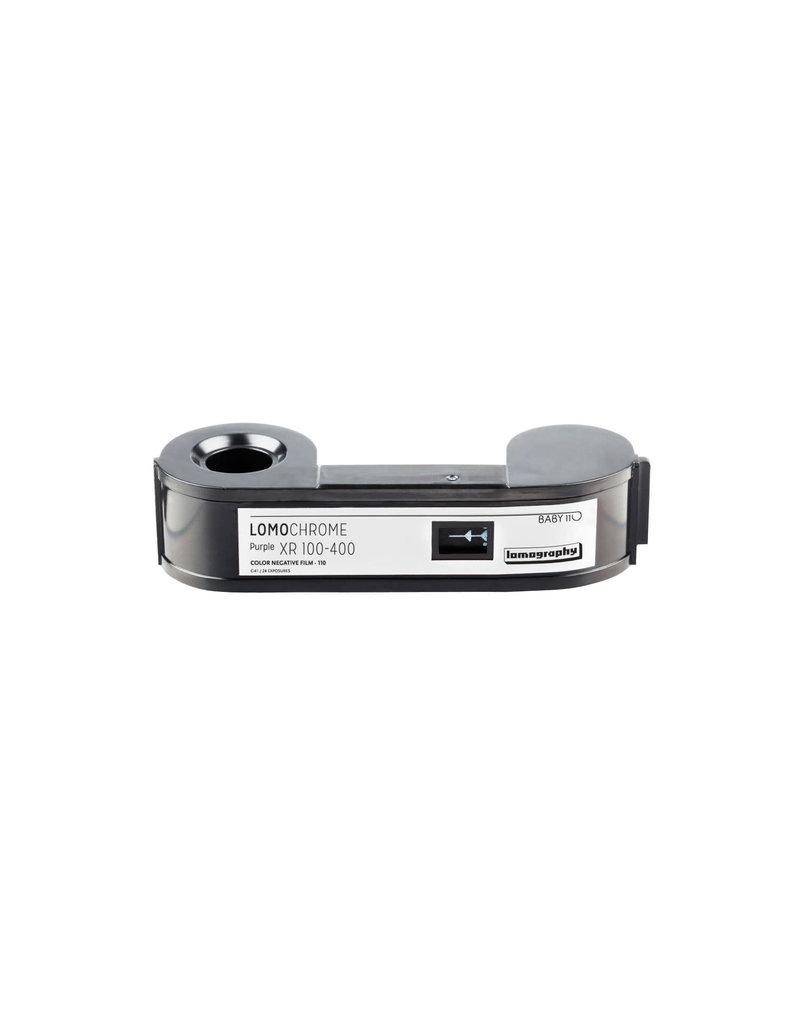 Lomography Lomo Chrome Purple XR 100-400 110 Film