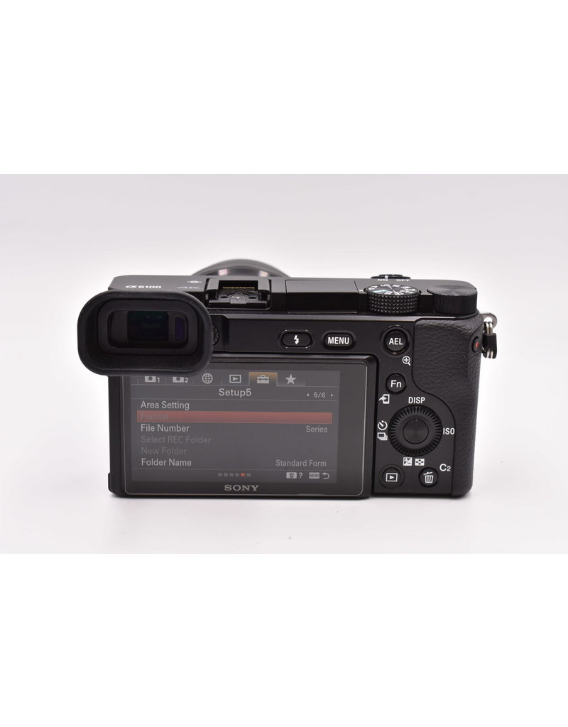 Sony Sony A6100 With E PZ 16-50mm F3.5-5.6 OSS