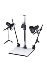 Promaster Open Box Copy Stand With Lights