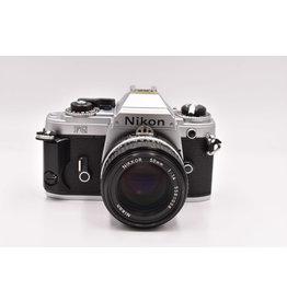 Nikon Pre-Owned Nikon FG With Nikon 50mm F/1.4