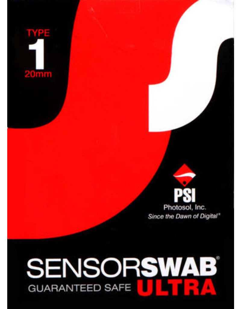 Photographic Solutions Photographic Solutions Type 1 Single Sensor Swab Ultra 20mm