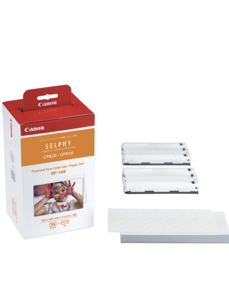 Canon Canon Selphy RP-108 Paper Set