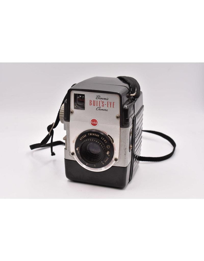 Kodak Pre-Owned  Kodak Brownie Bull's-Eye Camera With One Roll of 620 B&W Film