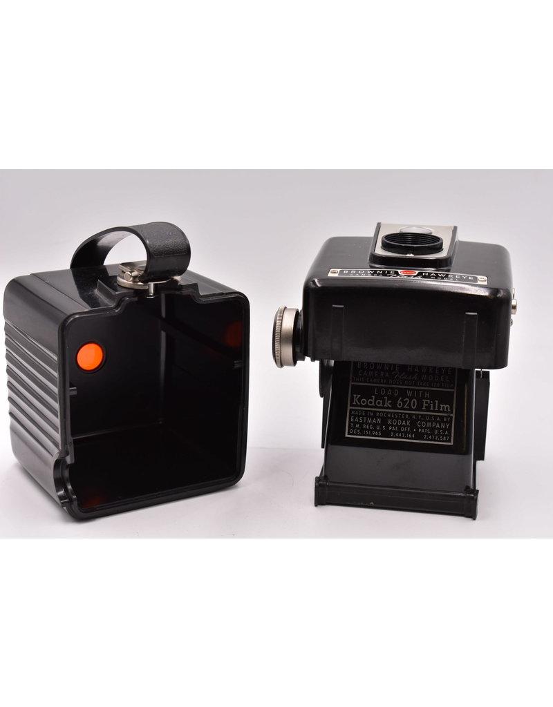 Kodak Pre-Owned Kodak Brownie Hawkeye Camera With One Roll of 620 B&W Film