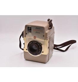Kodak Pre-Owned Kodak Brownie Bull's-Eye Brown Camera With One Roll of 620 B&W Film