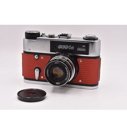 Pre-Owned NEW  FED-5B Russian Rangefinder 35mm Camera And 55mm F2.8 Lens