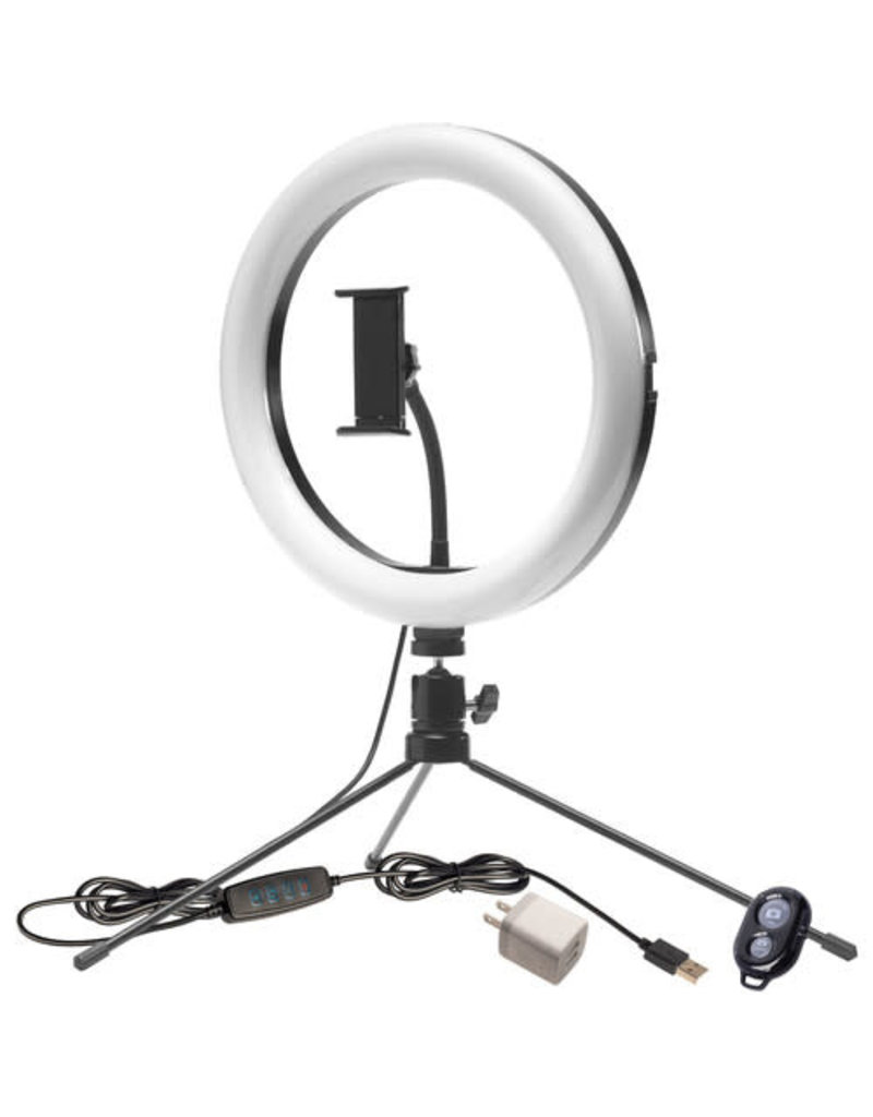 Smith-Victor Smith Victor Tri-Color LED 10 inch Ring Light