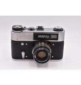 Pre-Owned ⭐ LIKE NEW  FED-5B Russian Rangefinder 35mm Camera And 55mm F2.8 Lens