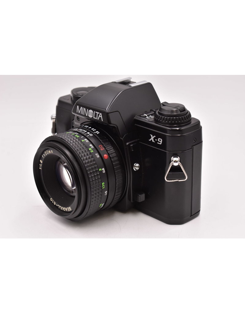 Pre-Owned  Minolta X-9 With 50mm F1.8