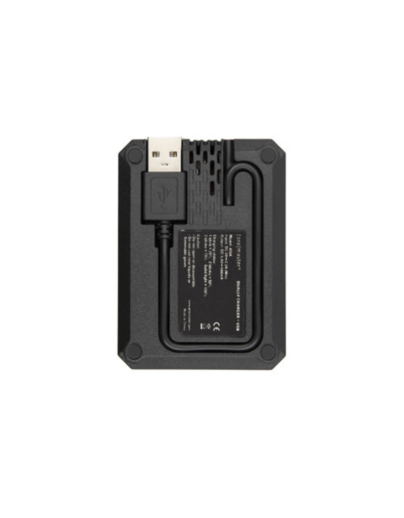 Promaster Dually Charger - USB for Sony NP-FZ100